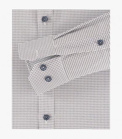 Camasa barbati VENTI BodyFit print albastru [3]