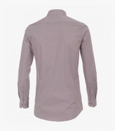 Camasa barbati VENTI BodyFit print rosu [2]