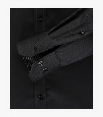 Camasa bumbac barbati VENTI Modern Fit neagra [3]