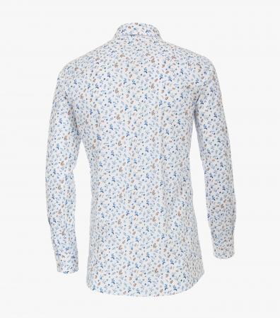 Camasa bumbac barbati CASA MODA Modern Fit print floral albastru [1]