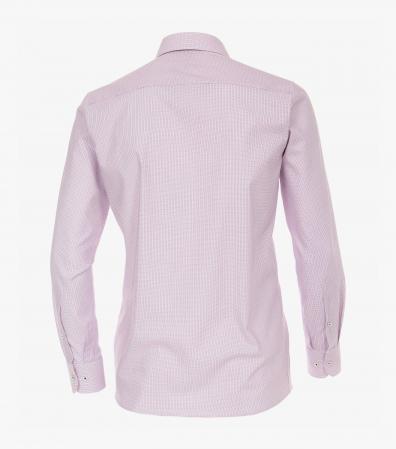 Camasa bumbac barbati CASA MODA Modern Fit roz print dungulite [1]