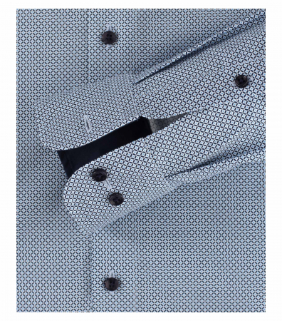 Camasa barbati CASA MODA ModernFit print albastru 393311100/100 [3]