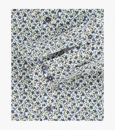 Camasa barbati CASA MODA print albastru CasualFit 413612800/100 [3]
