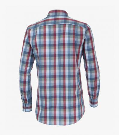Camasa barbati CASA MODA patratele albastre ComfortFit 413636600/100 [2]