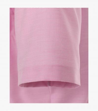 Camasa bumbac barbati maneca scurta VENTI Modern Fit roz [3]