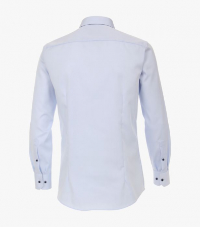 Camasa maneca lunga barbati VENTI uni Modern Fit albastra [1]