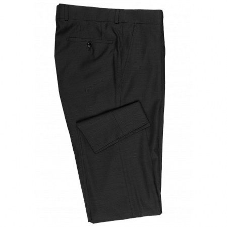 Pantaloni mix&match CARL GROSS BLACK LINE Steve pentru costum Modern Fit gri [2]