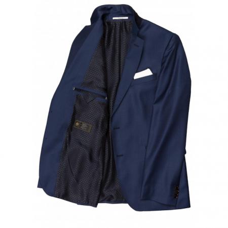 Sacou mix&match CARL GROSS BLACK LINE Frinks pentru costum Sharp Fit albastru [2]