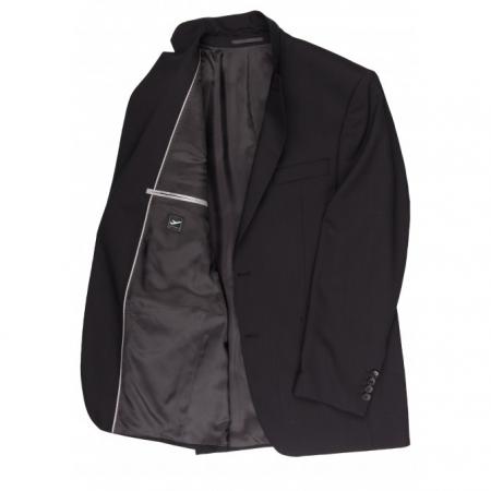 Sacou mix&match CARL GROSS Ted pentru costum Travel Regular Fit negru [2]