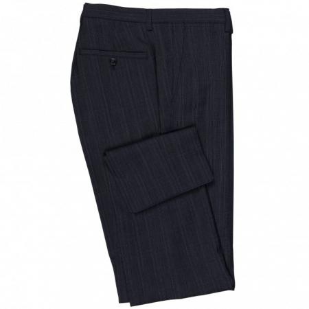 Pantaloni mix&match CLUB of GENTS Cedric pentru costum Slim Fit albastru caroiat [3]