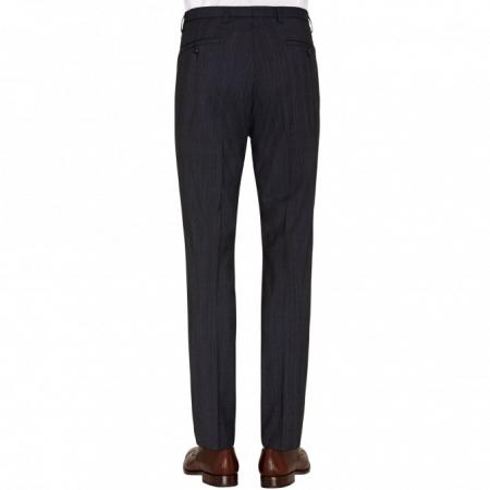 Pantaloni mix&match CLUB of GENTS Cedric pentru costum Slim Fit albastru caroiat [1]
