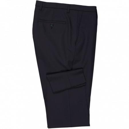 Pantaloni mix&match CLUB of GENTS Cedric pentru costum Slim Fit bleumarin [3]