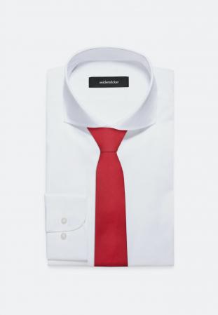 Cravata matase SEIDENSTICKER uni rosie [1]