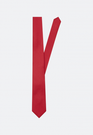 Cravata matase SEIDENSTICKER uni rosie [0]