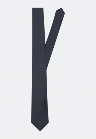 Cravata matase SEIDENSTICKER uni bleumarin [0]