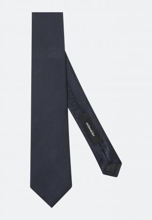 Cravata matase SEIDENSTICKER uni bleumarin [2]