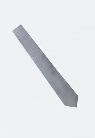 Cravata matase SEIDENSTICKER uni argintie [3]