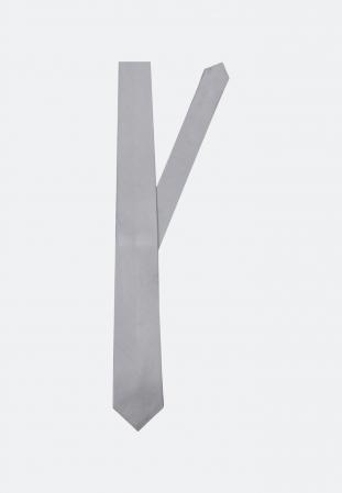 Cravata matase SEIDENSTICKER uni argintie [0]