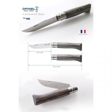 Cutit pliabil OPINEL NR.8 maner laminat [1]
