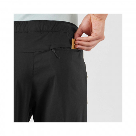 Pantaloni drumetie barbati SALOMON EXPLORE TAPERED negru [4]