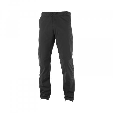 Pantaloni drumetie barbati SALOMON EXPLORE TAPERED negru [0]