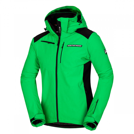 Geaca barbati ski Softshell 3L NORTHFINDER Drewin verde [0]