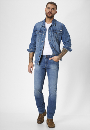 Jacheta blugi barbati Western Jacket PADDOCK'S albastru deschis [2]