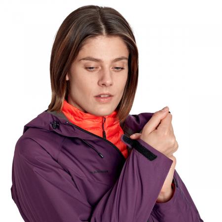 Jacheta femei MAMMUT Convey 3 in 1 HS Hooded Ws [7]