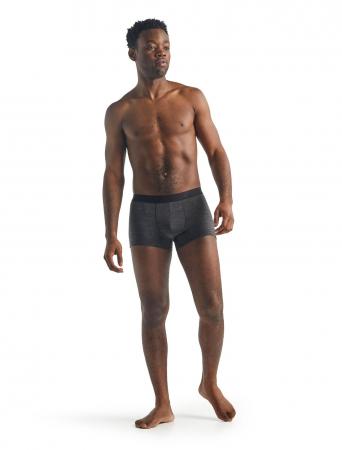 Boxeri merino barbati ICEBREAKER Anatomica Cool-Lite gri [3]