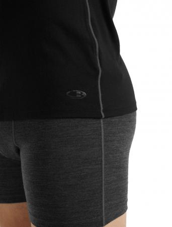 Bluza merino barbati ICEBREAKER Anatomica Crewe neagra [6]