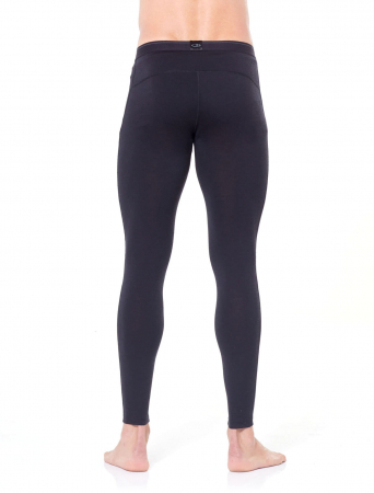 Pantaloni de corp barbati ICEBREAKER 200 Oasis negri [2]
