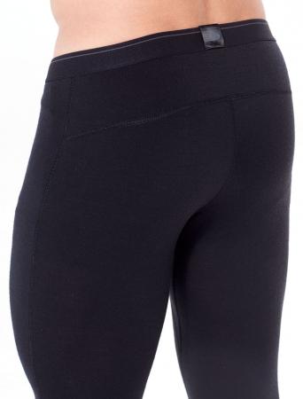 Pantaloni de corp barbati ICEBREAKER 200 Oasis negri [4]