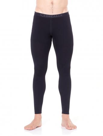 Pantaloni de corp barbati ICEBREAKER 260 Tech negri [1]