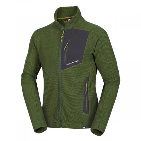 Bluza barbati NorthPolar® Fleece 270gsm travel NORTHFINDER Vonby verde [0]