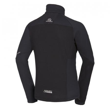 Bluza barbati midlayer fleece NORTHFINDER KREMENEC negru [1]
