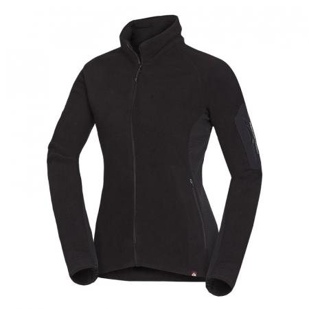 Bluza femei fleece Midlayer NORTHFINDER Opalova negru [0]