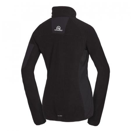 Bluza femei fleece Midlayer NORTHFINDER Opalova negru [1]