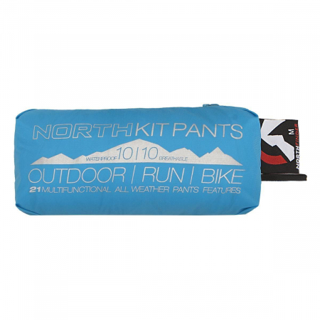 Pantaloni Impermeabili barbati NORTHFINDER Northkit bleu [2]