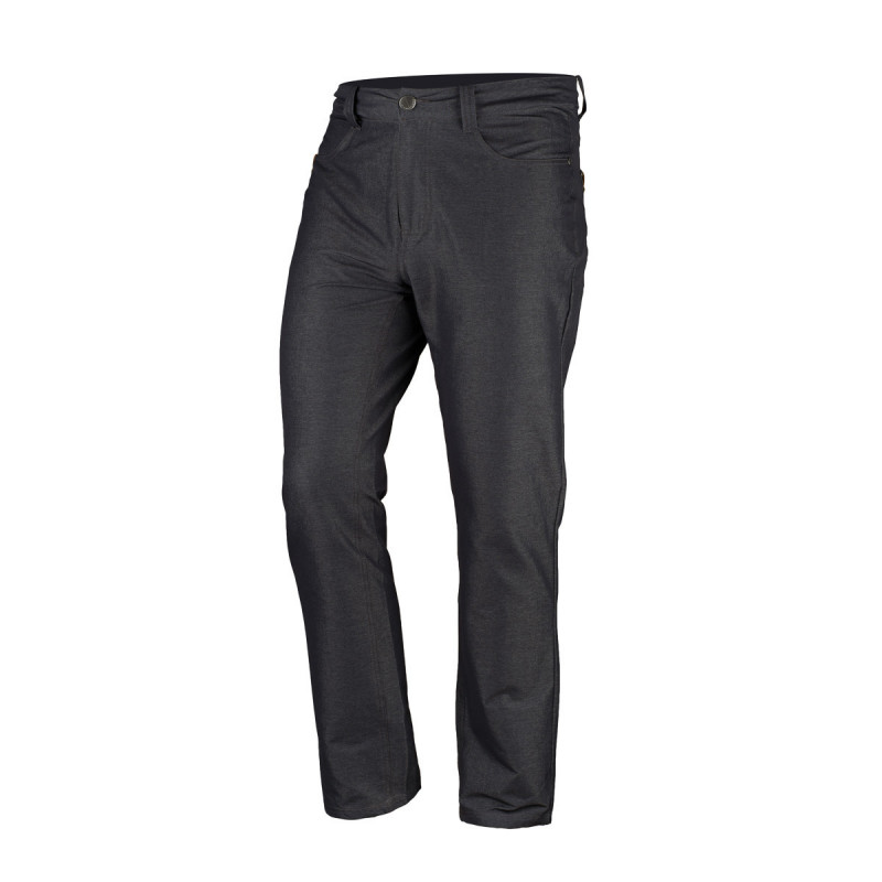 Pantaloni ultra-usori aspect blugi barbati NORTHFINDER BERLIINSON negri [0]