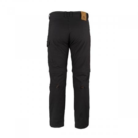 Pantaloni outdoor detasabili barbati NORTHFINDER TLERON negri [1]