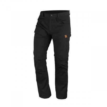 Pantaloni outdoor detasabili barbati NORTHFINDER TLERON negri [0]