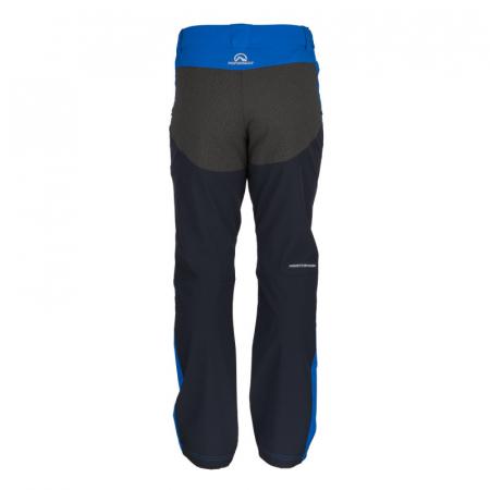 Pantaloni softshell hibrid 3L barbati NORTHFINDER HROMOVEC albastru/negru [1]