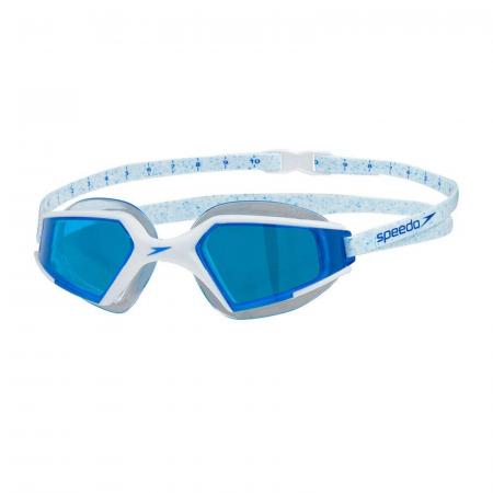 Ochelari inot adulti SPEEDO AquaPulse Max Mirror V3 alb/albastru unisex [3]
