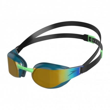 Ochelari inot adulti SPEEDO Fastskin Elite Mirror verde/auriu unisex [0]