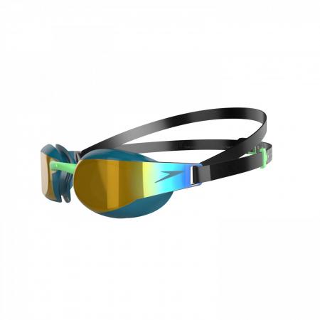 Ochelari inot adulti SPEEDO Fastskin Elite Mirror verde/auriu unisex [1]