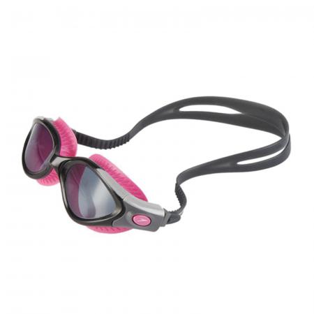 Ochelari de inot pentru femei SPEEDO Futura Biofuse Flexiseal roz/fumuriu [1]