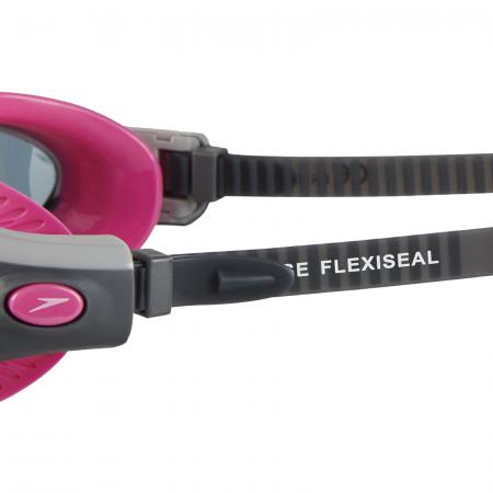 Ochelari de inot pentru femei SPEEDO Futura Biofuse Flexiseal roz/fumuriu [2]