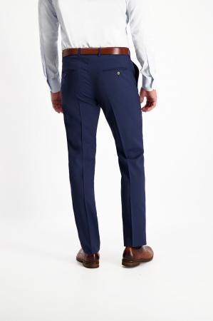 Pantalon elegant LAVARD Travel albastru mix&match (864) [3]