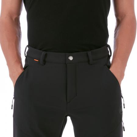 Pantaloni barbati MAMMUT Winter Hiking SO black [2]