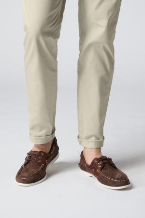 Pantaloni chino bumbac barbati SPOKE SHARP Lightweights bej [6]